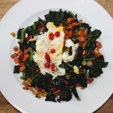 Recipe for Sweet Potato & Bacon Hash